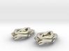 Leaf earrings 3d printed