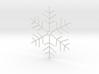 Snowflake Pendant 4 3d printed