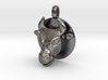 BULL Jewelry Head Design Zodiac Pendant 3d printed