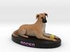 Custom Dog Figurine - Rocko 3d printed