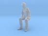 SE Sherman Pippin Sitting Customizable Engineer. 3d printed