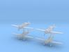 1/240 Fokker D.XXI (Netherlands) (x4) 3d printed