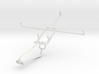 Controller mount for Xbox One Chat & Prestigio Mul 3d printed