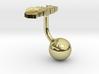 Togo Terrain Cufflink - Ball 3d printed