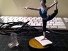 Balance Board for Wii Fit Trainer amiibo 3d printed Here we see the amiibo with the translucent cast removed and the balance board installed. (Obviously the amiibo itself is not included with this model.)