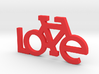 The Bicycle Keychain - LOVE 3d printed