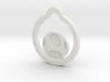 Mushroom Keychain/pendant 3d printed
