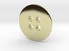Button 1.896cm 3d printed