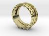 ''Bane'' Tritium Ring 3d printed