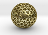 Nested-Balls-george-hart 3d printed