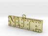 Nutz Letter Bar 3d printed