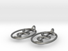 Rod Of Asclepius Earrings - Mini 3d printed