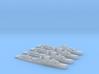Maeklong class Sloop 1/2400 x4 3d printed