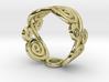 2 Spirals & Ovals (Closed version) 3d printed