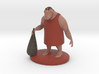 Caveman Cartoon Character 3d printed