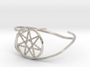 Woven Fairy Star armband/cuff 3d printed