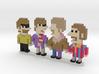 Beatles iotacons (Yellow Submarine) 3d printed