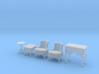 1:48 Sitting Room Set 3d printed