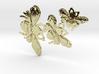 Three Bees Large Pendant 3d printed