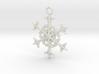 Snowflake Charm 3d printed