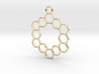 Honey pendant 3d printed