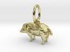 Hog pendant 3d printed