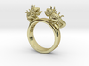 Twin Chameleon Ring 3d printed