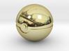 Pokeball 4cm in diameter. 3d printed