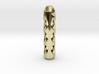 Tritium Lantern 2C (Silver/Brass/Plastic) 3d printed