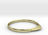 Edge Ring US Size 6 UK Size M 3d printed