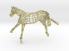VICTORY - Gold Plated Horse 3d printed
