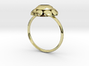 Diamond Ring US Size 8 5/8 UK Size R 3d printed