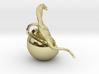 Dinosaur Charm 3d printed Dinosaur baby charm by ©2012 RareBreed