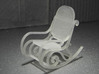 1:48 Bentwood Rocking Chair 3d printed