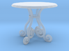 1:48 Fancy Rod Iron Table 3d printed
