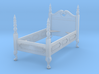 1:48 Queen Anne Twin Bed 3d printed