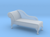 1:48 Queen Anne Chaise (Right-Facing) 3d printed
