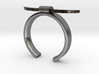 Bull Horn Ring - Sz.5 3d printed