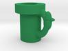 Super Mario Pipe Mug 3d printed