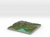 Terrafab generated model Mon Dec 29 2014 23:16:53  3d printed