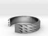 Metal Snake Skin Ring - Sz. 8 3d printed