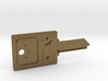 BMO House Key Blank - KW1/66 3d printed
