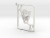 Joker Card Keychain 3d printed