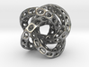 The Hollow Hole Knot 3d printed