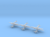Caproni Ca.309 Ghibli 1/700 (6 airplanes) 3d printed