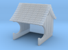 H&F Waiting Station - N scale 3d printed