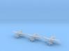 Douglas B-18A Bolo 1/700 (6 airplanes) 3d printed