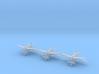 Douglas B-18 Bolo variants Sprue 1/600 (x6) 3d printed