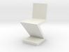 1:48 Zig Zag Chair 3d printed