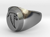Falcon Class Ring 3d printed